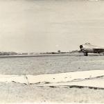 Миг-15. аэродром Бутурлиновка, пилот - курсант Бадьёв В.М., 1958 г.