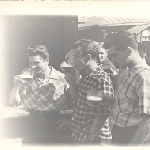 Выходной. Иваново. Н. Сахненко (БВВАУЛ - 59), Ф. Загитов, И. Дьячков (БВВАУЛ - 59)