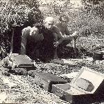 На рыбалке. Иваново. 1960. Крайний справа - Бадьёв