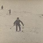 """Горнолыжники"". Спуск курсанта Бадьёва. Бутурлиновка. 2 февраля 1959 г."