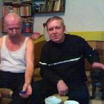 А. Фёдоров, Ю. Маркушин, дек. 2006. Снято на моб. тлф