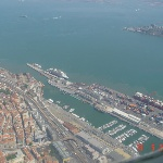 Куин Мэри-2 в порту Лиссабон