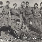 1986 год. 2-ой курс. Аэродром Таловая