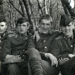 В парке Жердевского сах/завода, осень 1974 г.