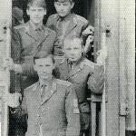 В отпуск, в Самару, август 1972 г., вместе с В. Аверьяновым, А. Новиковым, С. Атюшовым