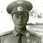 Летчик-инструктор нашего звена Ковалев Валерий Павлович, 1975 г.