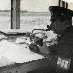 Командир аэ капитан Даньшин, 1974 г.