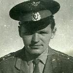 Командир звена ст. л-т Ворожко, 1973 г.