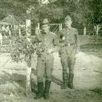 В карауле В. Елизаров и П. Антонов