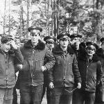Лейтенанты 76-го года выпуска в Поставах
