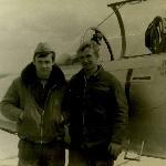 Жердевка, 1977 год, Лемяскин с техником с-та  мл. сержантом срочной службы