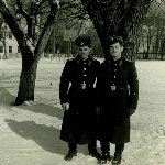 Борисоглебск, 1978 год.  Лемяскин и Горелов
