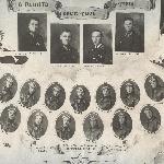 Одна из фотографий выпускного фотоальбома 1940 г.