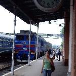 Эти вокзальные часы на платформе знакомы всем. Засечём время, и отправимся путешествовать по Борисоглебску.