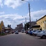 Улица Третьяковская по направлению к центру