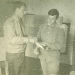 Ст. л-т Зеваков В. В. Жердевка,  1977 г.
