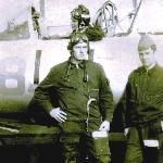 Уварово, 1976. В кабине курсант Ярошинский, стоят Лихачев и Лемяскин