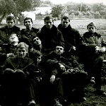 Поворино, 1978 год. Впереди Поляков Ю. 2-ый ряд: Пальгуев, Лихачев, Реберко, Лемяскин. Задний ряд: Олейник, Питерский, Шилин, Куликов, Пересторонин