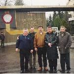 Борисоглебскому лётному училищу - 80 лет (1923-2003). Однокурсники у КПП