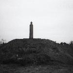 Место гибели курсанта Кузнецова Э. Г. Осень 1989 г. Перед установкой памятника.