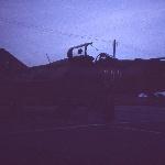 Аэродром Ново-Поворино. Лето 1989 г. МиГ-21 ПФМ, борт   111. 15.08.1989 на нем в последний полёт ушел курсант Кузнецов Э.Г.