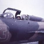 Аэродром Ново-Поворино. Лето 1989 г. Курсант Кузнецов Э. Г.