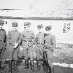 Аэродром Ново-Поворино. Перед началом полетов на МиГ-21. Крайний слева - курсант Кузнецов Э. Г.