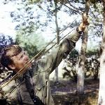 А. Баженов: «…Возле на нашего барака на деревьях жили грачи, которые начинали орать ни свет ни заря. Ну, я их и воспитывал. А рогатку отнял у кого-то из курсантов...»