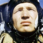 Староюрьево, 1977 год. А. Баженов в процессе пилотирования