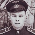 1951 год. Курсант Алексеев А.А.