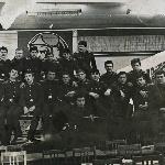 I курс, на самоподготовке в классе КЭСиД 103-104 к/о Борисоглебск февраль 1985 г.