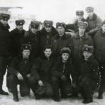 I курс, на газовочной площадке, 104 к/о Борисоглебск март 1985 г.