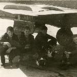 III курс экипаж Вельяминов, Жариков, л-т Кочетков, Соболев Бутурлиновка 1987 год