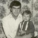 С сыном Андреем, 14 ноября 1981 года