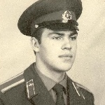 Курсант Осипов, 1974 год.