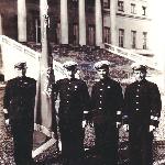 Петергоф, весна 1941. Курсанты ВКУНС