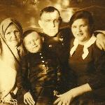 Ханко, лето 1940.  Выходной день с семьей