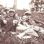 Котлы, 1937.  Выходной день с друзьями на природе