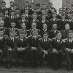 Выпуск БВВАУЛ - 75 г. 2-й взвод 3-й роты 204-205-206 к/о  с командованием училища и руководством города Борисоглебска