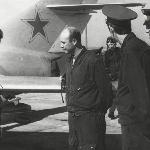 Разбор полета на допуск к первому самостоятельному вылету на боевом самолете. Аэродром Бутурлиновка, 1975 год