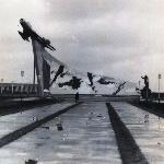 Монумент лётчикам-выпускникам училища, погибшим в Великой Отечественной войне, 1973 год