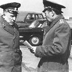 Начальник училища полковник Волков