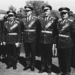 Марченков, Жуков, Демьяненко, Никонов, Полуйко 1971 г.