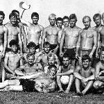 Курсанты 5-й эскадрильи подполковника Лопатка на отдыхе. Поворино, 1985 год.