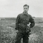 Курсант Рытченко Василий Андреевич, Поворино, 1947 год.