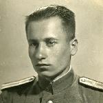 Рытченко В. А., воспитанник 1-й Московской спецшколы ВВС, июнь 1945 г.