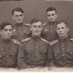 Неразлучная пятерка. Октябрь 1948 г. Лагерь Дуплятка