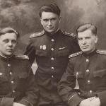 Евгений Ларин, Анатолий Лобов. Март 1949 г.