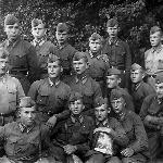 На фотографии курсанты одного из отрядов 4-й эскадрилии
