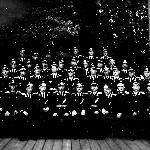 На память фото 2 АЭ, подполковника Ящерицына Ф. В. 1957 год